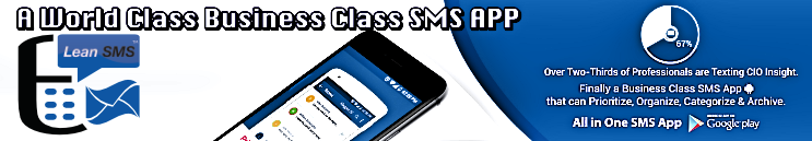 Lean SMS